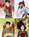The New Team Avatar!  - avatar-the-legend-of-korra fan art