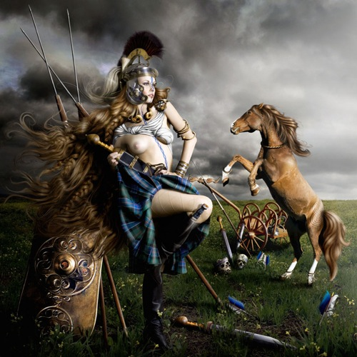 Women in History wallpaper probably containing a lippizan and a horse trail called The Regal Twelve - Boudica