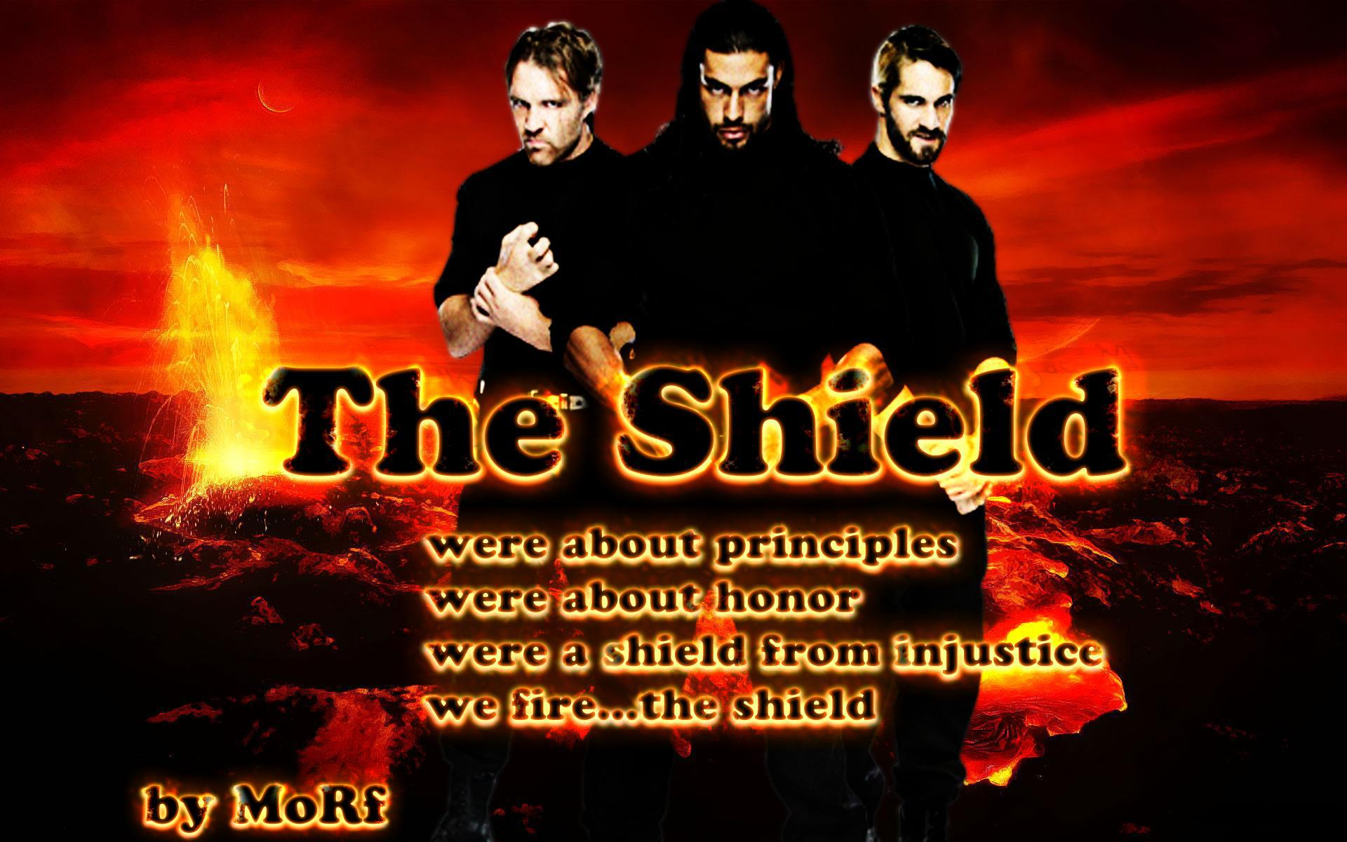 The Shield achtergrond