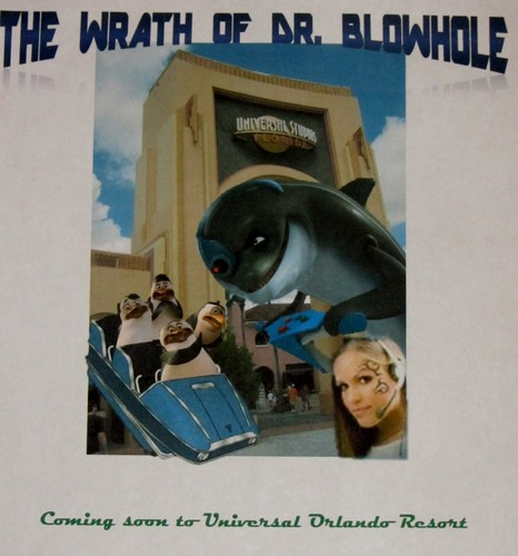 The Wrath of Dr Blowhole The Ride