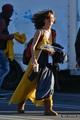 The girls on set (11/01/13) - 90210 photo