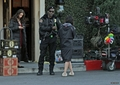 The girls on set (11/01/13) - 90210 photo