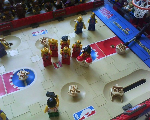 The new NBA バスケットボール, バスケット ボール season kicks off in Legoland!!