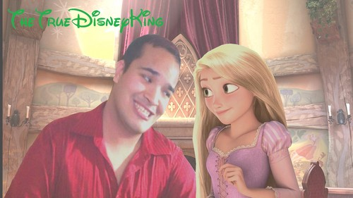 TheTrueDisneyKing and Princess Rapunzel