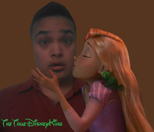 TheTrueDisneyKing and Princess Rapunzel