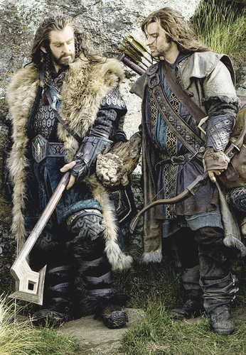 Thorin with Kili