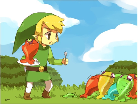 Toon Link Images Wallpaper And Background Photos