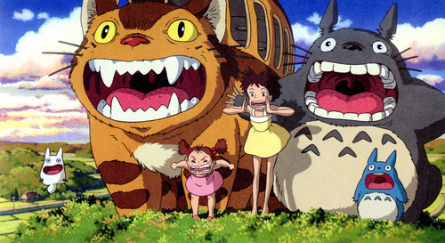 My Neighbor Totoro fond d'écran possibly with a totem pole and animé entitled Totoro