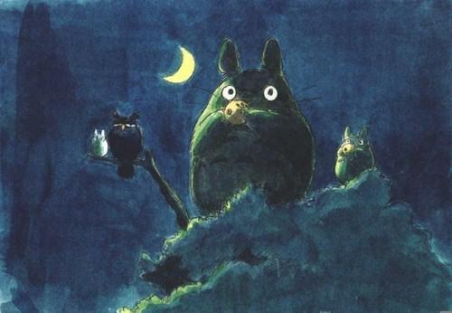 My Neighbor Totoro fond d'écran called Totoro