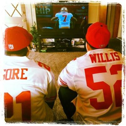 True 49ERS fan