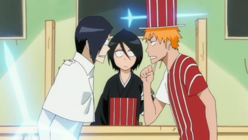 Uryū, Rukia & Ichigo - Bleach Anime Photo (33317496) - Fanpop