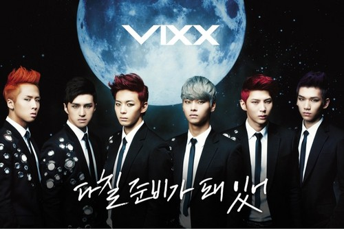 KTJPoP* wallpaper containing a business suit, a suit, and a well dressed person called VIXX On And On Concept Pic