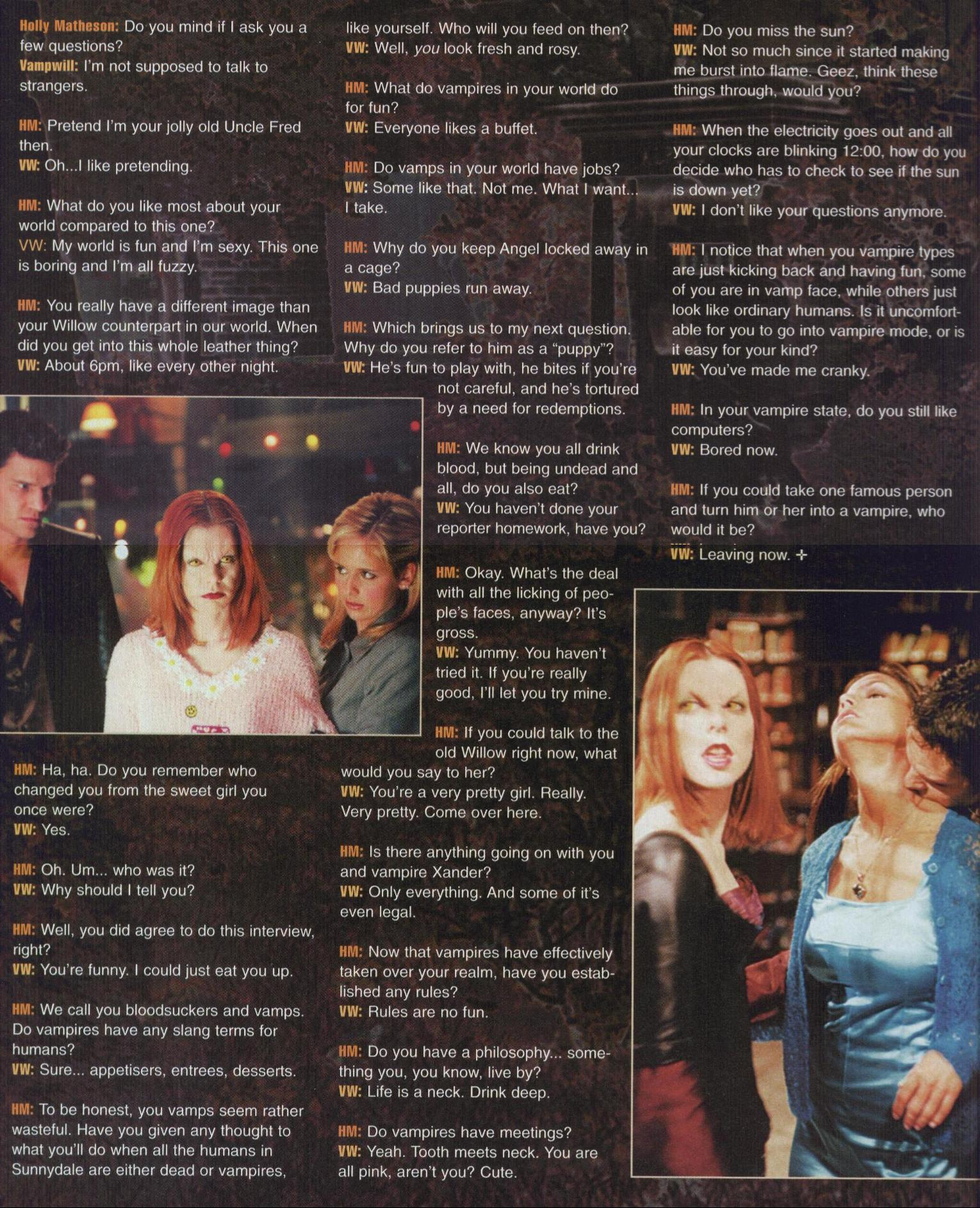 Vamp Willow Interview part 2