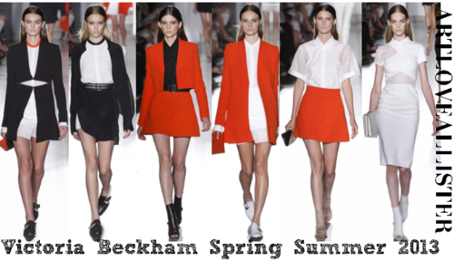 Victoria Beckham Spring Summer Collection 2013