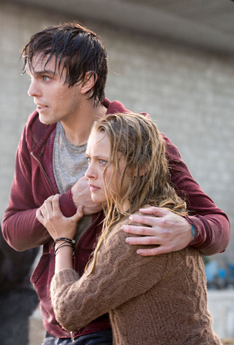 Warm Bodies Movie Hintergrund containing an ice lolly titled Warm Bodies - R & Julie