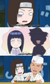 Who Neji loves (scene from Naruto SD episode 39)