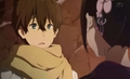 Why you blushing? - hyouka photo