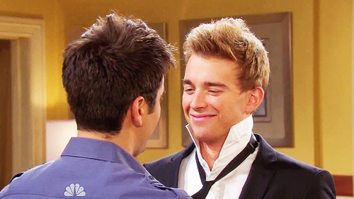 Will and Sonny wallpaper probably containing a business suit titled Will and Sonny
