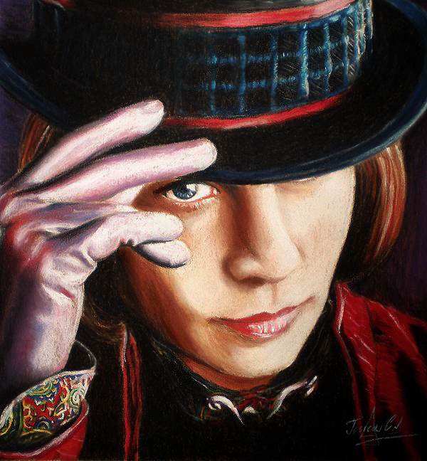 100% authentique comment avoir original Willy Wonka ~ fan Art - Charlie et la chocolaterie fan Art ...