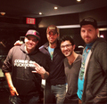 With friends in the studio - enrique-iglesias photo