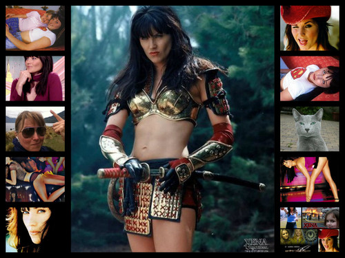 Lucy Lawless wallpaper entitled Xena