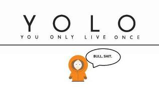 South Park Hintergrund possibly containing a venn diagram entitled YOLO