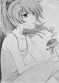 Yin (Daker than BLACK) - anime fan art