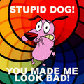 You made me look bad! - courage-the-cowardly-dog fan art