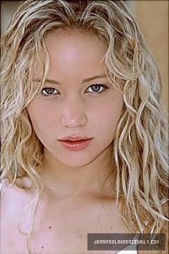 Young Jennifer Lawrence Headshots