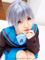 Yuki Nagato cosplay