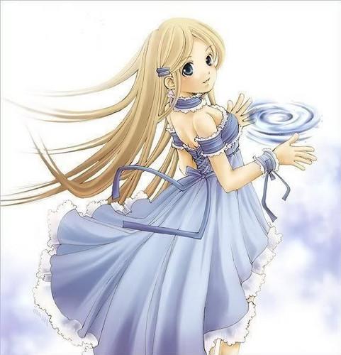 animé girl dress