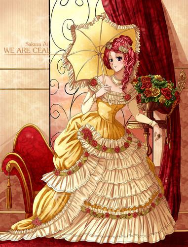জীবন্ত girl dress