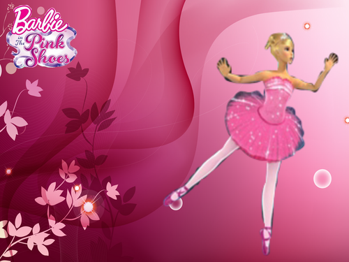 barbie in the rosa, -de-rosa shoes