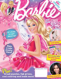 búp bê barbie magazine 2013