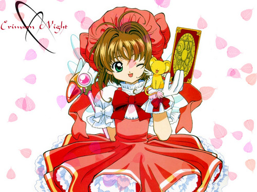 Cardcaptor Sakura wolpeyper with anime called ccs