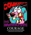 courage the cowardly dog - courage-the-cowardly-dog fan art