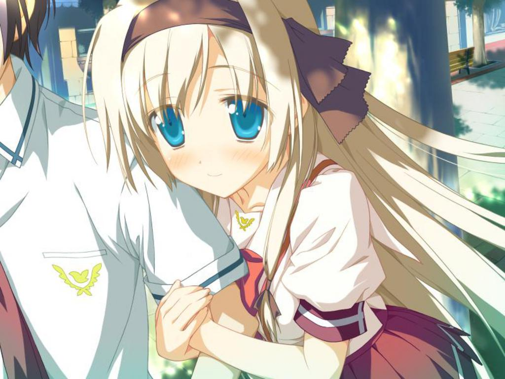 anime forever images cute anime girl blushing hd wallpaper and