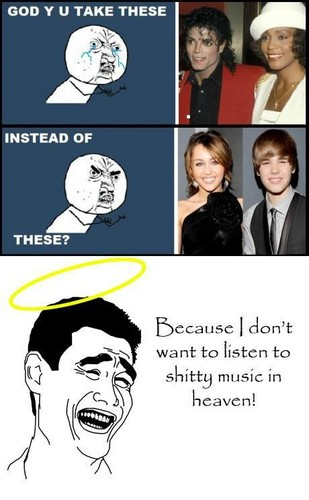 even there,I will not listen JB's stupid songs