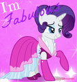 fabulous :) *BIGGER* - rarity-the-unicorn photo