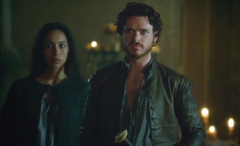 Talisa and Robb Stark