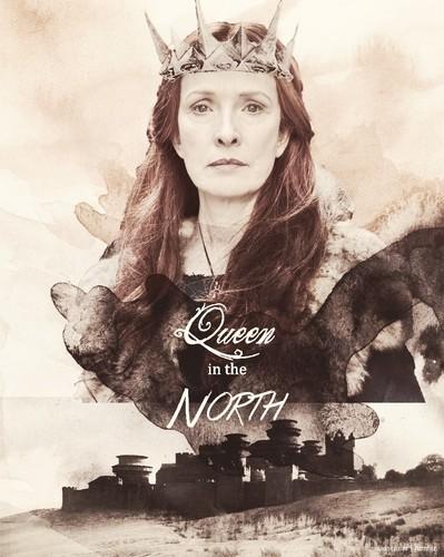Lindsay Duncan as older Sansa Stark