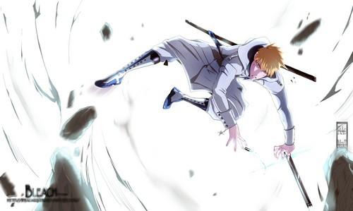 Bleach anime achtergrond called ichigo quincy
