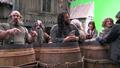 in barrels
