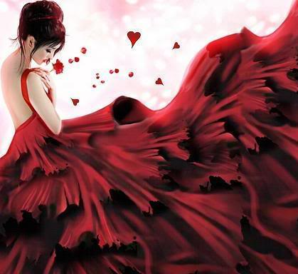 lady red