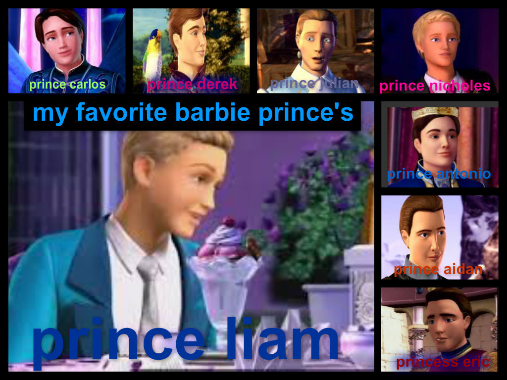 liams favorite barbie prince's