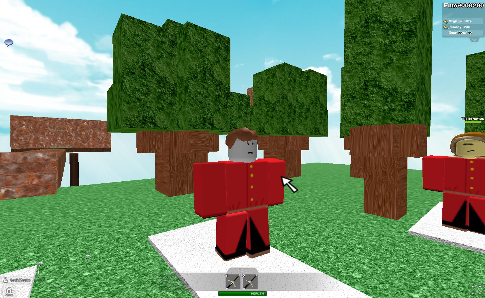 me and my other account and my boss - Roblox Photo (33348635