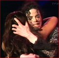 michael giving a hug - michael-jackson photo