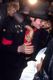 michael giving a hug