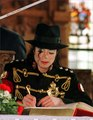 micheal is writing - michael-jackson photo