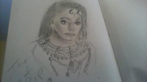 my mj drawing